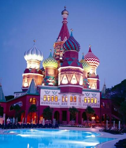 Wow kremlin palace 5 antalya turcia vacan la mare for Piscine kremlin